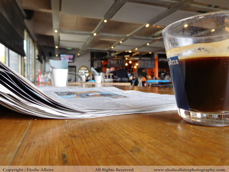 COFFEE PAPER Elodie Allaire Photography