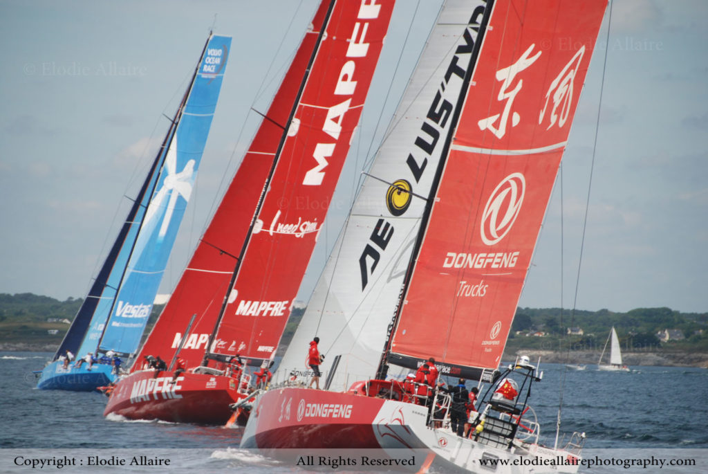 VOLVO OCEAN RACE LORIENT Elodie Allaire Photography